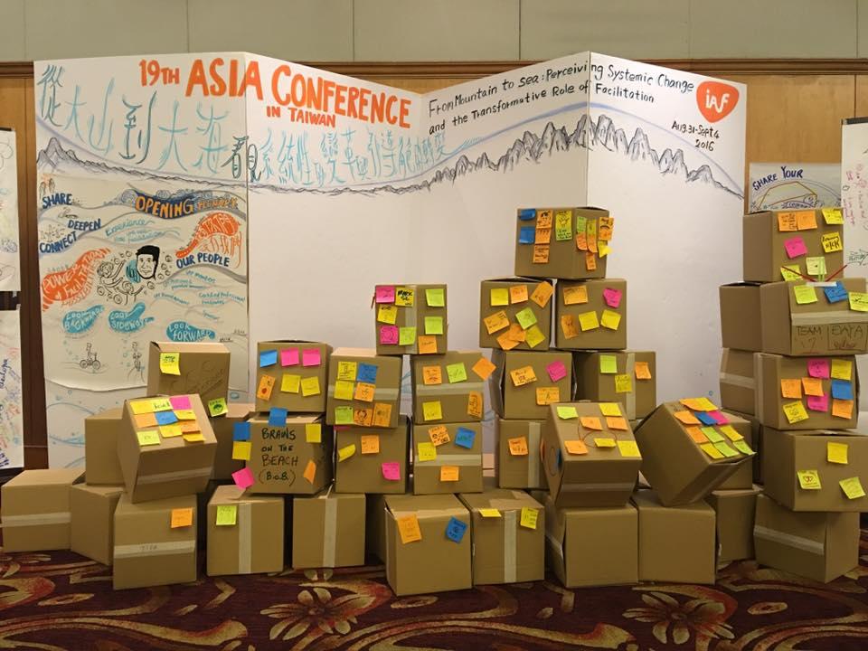 誤入引導的小白兔 – 2016 IAF Asia Conference亞洲區引導者年會參與心得